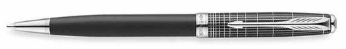 Ручка шариковая Parker Sonnet K536 Contort Black Cisele