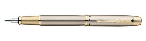 Ручка перьевая Parker IM Metal Brushed Metal GT