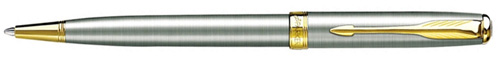 Ручка шариковая Parker Sonnet Steel GT