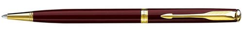 Ручка шариковая Parker Sonnet Slim LaqRed GT