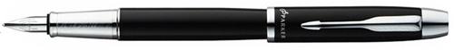 Ручка перьевая Parker IM Metal Black CT