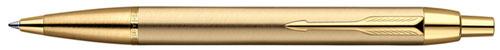 Ручка шариковая Parker IM Metal, Brushed Metal Gold GT