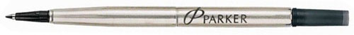 Стержень для ручки-роллера Z01 в тубе, тонкий (F), Black