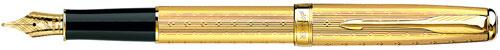 Перьевая ручка Parker Chiselled F532