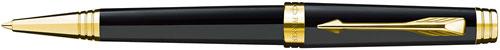 Ручка шариковая Parker Premier Lacque K560, Black GT