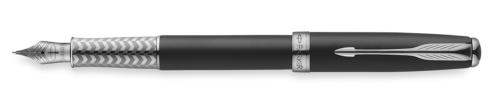 Перьевая ручка Parker Sonnet F533 Secret Black Shell