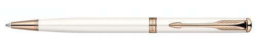 Ручка шариковая Parker Sonnet`11 Slim Pearl