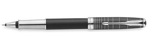 Ручка-роллер Parker Sonnet T536 Contort Black Cisele