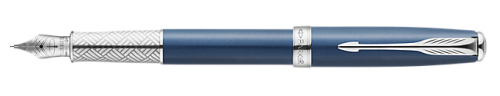 Перьевая ручка Parker Sonnet F533 Secret Blue Shell