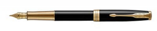 Перьевая ручка Parker Sonnet Core Laqblack GT