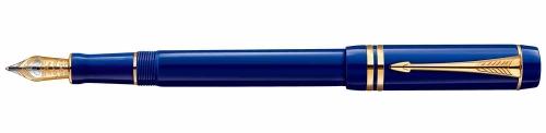Перьевая ручка Parker Duofold F74 International Lapis Lazuli