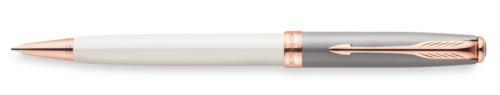 Ручка шариковая Parker Sonnet K533 Subtle Pearl & Grey